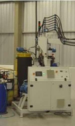 Fabricantes de máquinas de injetar PU