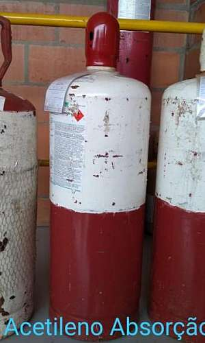 Gás acetileno para solda