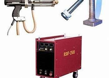 Locação máquina de solda pino stud bolt